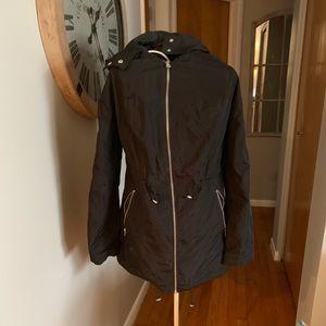 Jackets & Blazers - Black Rain Jacket